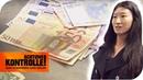 Vielfliegerin mit viel Bargeld im Zoll: Hat sie zu viel Geld dabei?   Achtung Kontrolle   kabel eins