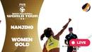 Nanjing 2-Stars - 2018 FIVB Beach Volleyball World Tour - Women Gold Medal Match