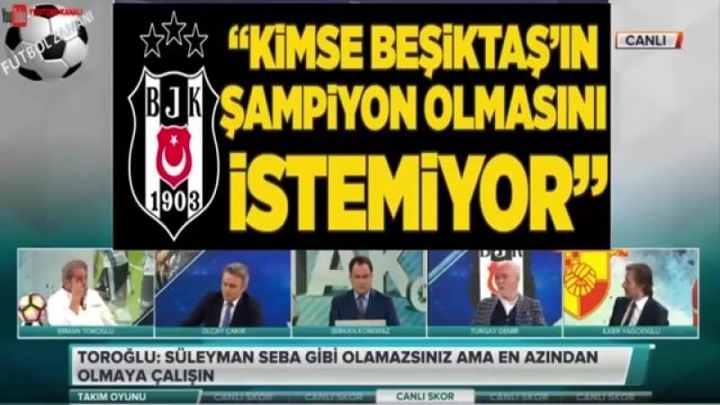 Beşiktaş 5 - 1 Göztepe maçı Erman Toroğlu Takım Oyunu yorumları (3) 7 Nisan 2018