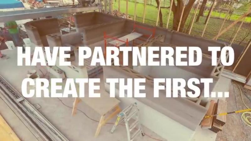 Представлена технология 3D-печати для производства домов менее, чем за 24 часа » Freewka.com - Смотреть онлайн в хорощем качестве