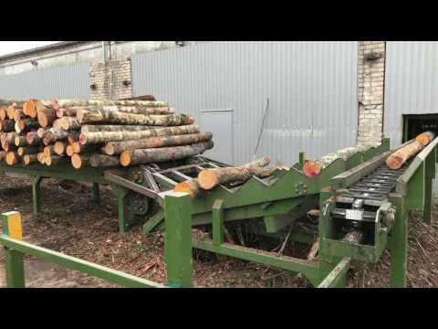 - DIAMETRAS - No 12.1 | Lentelių gamybos linija | Линия для тарной доски | Pallet production line |