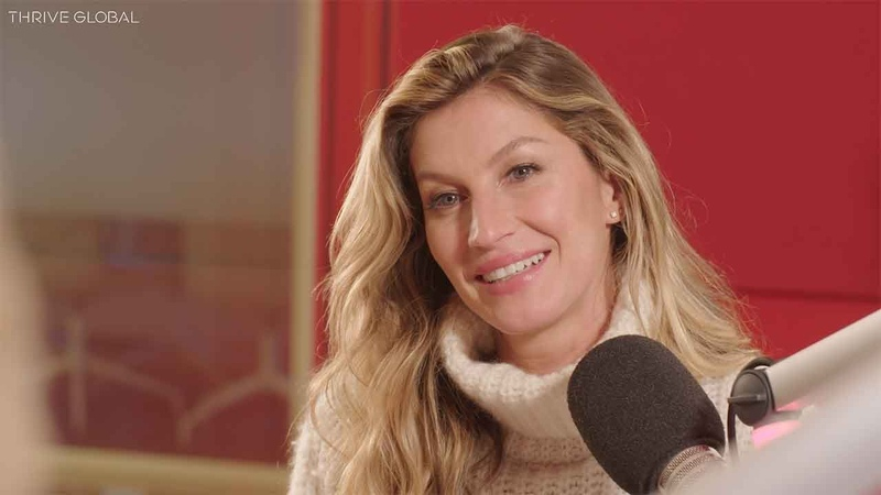 Gisele Bündchen Reminds Us That We Are More Than Just Our Jobs   Thrive Global