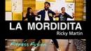 La Mordidita Zumba Fitness Choreography | Ricky Martin La Mordidita Zumba Workout By Fitness Fusion dance