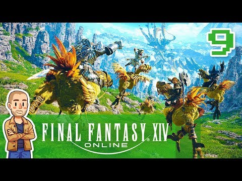 Final Fantasy XIV Gameplay Part 9 A Soldier's Breakfast FF14 Let's Play Series