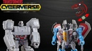 Transformers Cyberverse Scout Class Megatron and Starscream Video Review