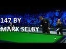 MAXIMUM 147 Break by Mark Selby - 8 November 2018 Champion of Champions
