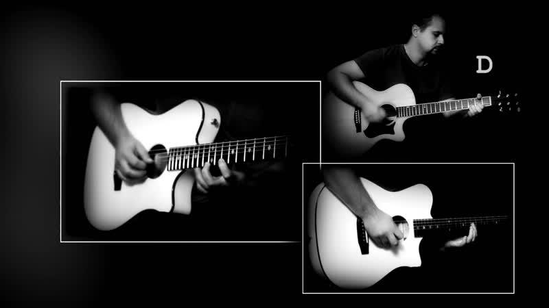 Поезд в огне - АКВАРИУМ _⁄ Как играть на гитаре (3 партии)؟ Аккорды, табы - Гитарин