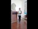 Жастар таңдайды жобасына қатысушы Болатбекқызы Сымбат жастарды кітап оқуға шақырады