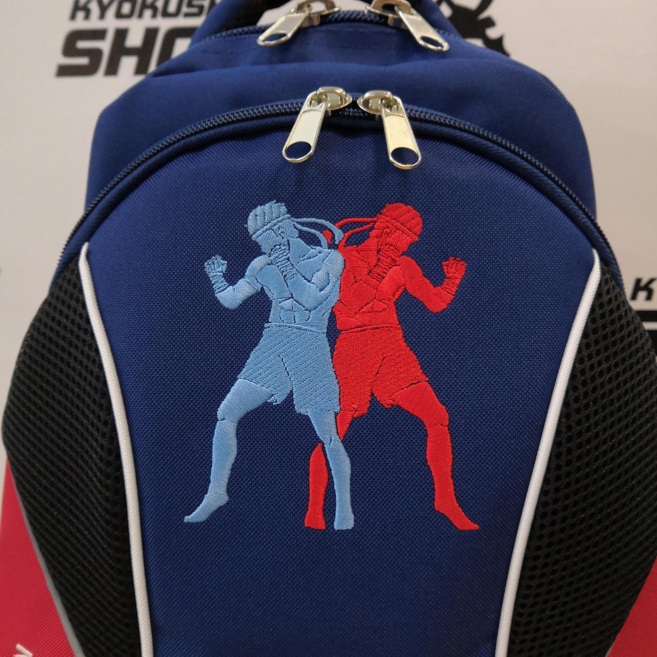 Представляем вам долгожданное пополнение в товарах: рюкзаки с вышивкой символики тайского бокса