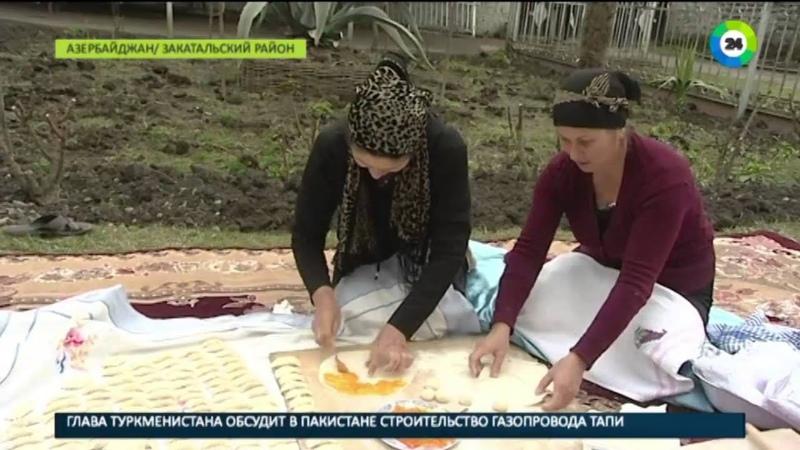 Махара, фесели, кутабы азербайджанские хозяйки готовятся к Новрузу