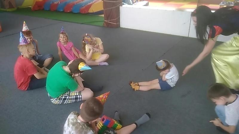 Мультяшная неделя ЛЕТО в детских центрах сети КУБИКИ