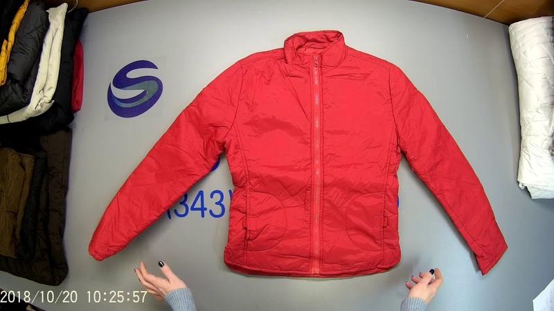 СЕКОНД ХЕНД Артикул С 235. Упаковка № 5. Куртки ж/м зима. Страна Англия.
