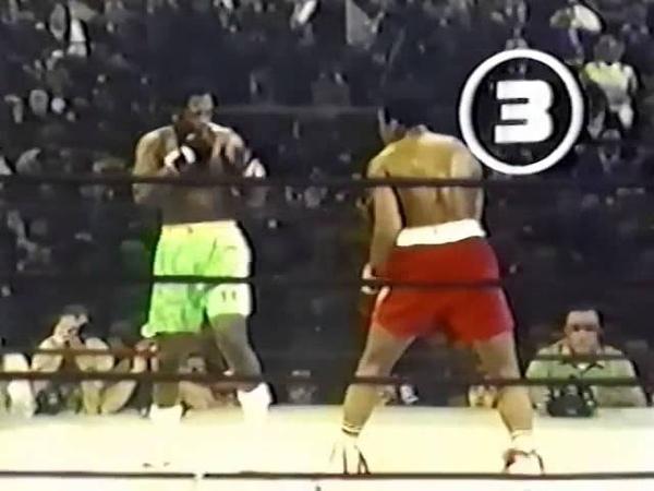 Знаменитый бой Мухаммед Али против Джо Фрейзера