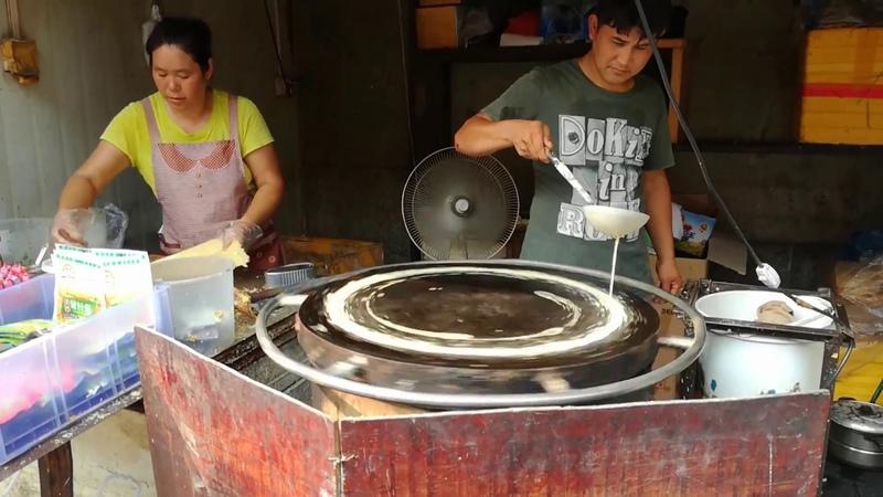 Beijing jianbing (北京煎饼)