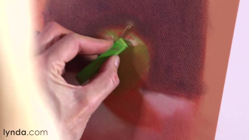 Lynda - Artist at Work - Complementary Colors - 00. Working with Complementary Colors 03. Finishing touches