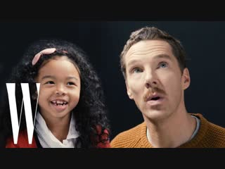 Benedict Cumberbatch Gets Interviewed By A Cute Kid | Little W | W Magazine [RUS SUB]