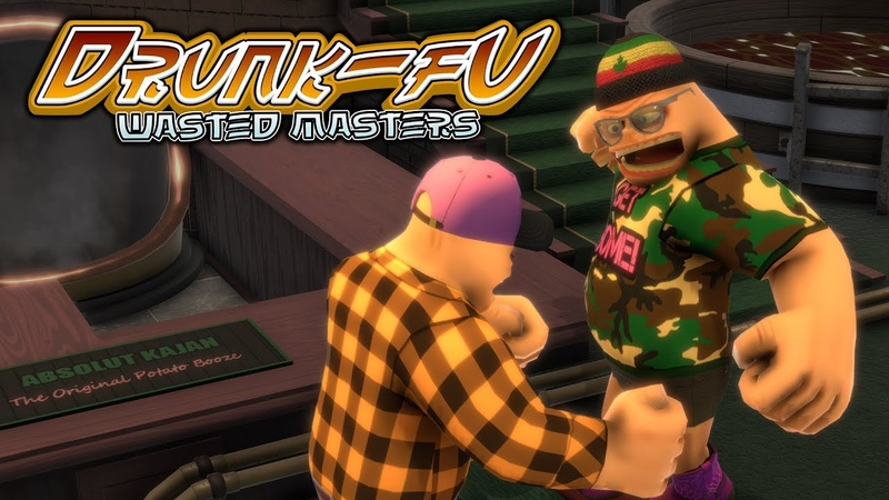 Drunk Fu Wasted Masters release trailer
