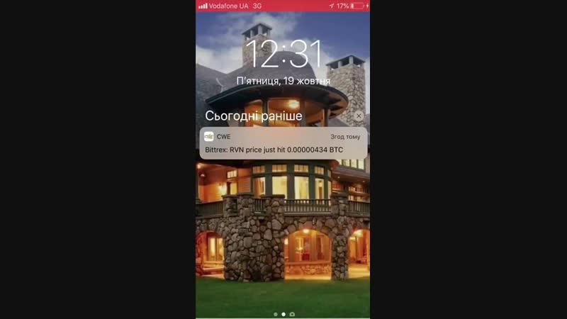 Как торговать по рекомендациям компании через push-уведомления с помощью мобильного приложения CWE!🌍📈✊