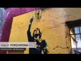 Портрет Тотти художника Риона Монти снова отреставрирован