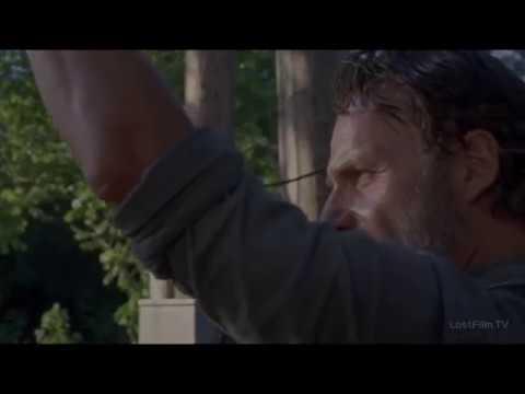 Рик убивает спасителя