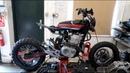 Honda SLR650 Custom Scrambler by Thornton Hundred