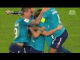 Зенит - Динамо. 2:1 Гол Скроботова