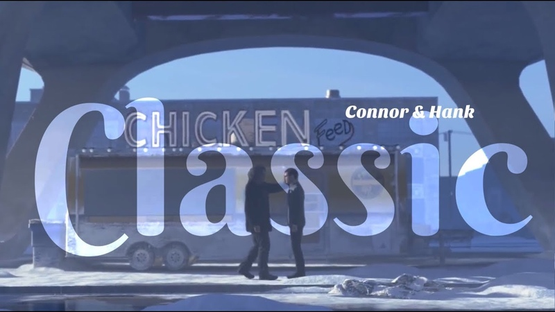 You're So Classic ~ Connor and Hank {Detroit Become Human}