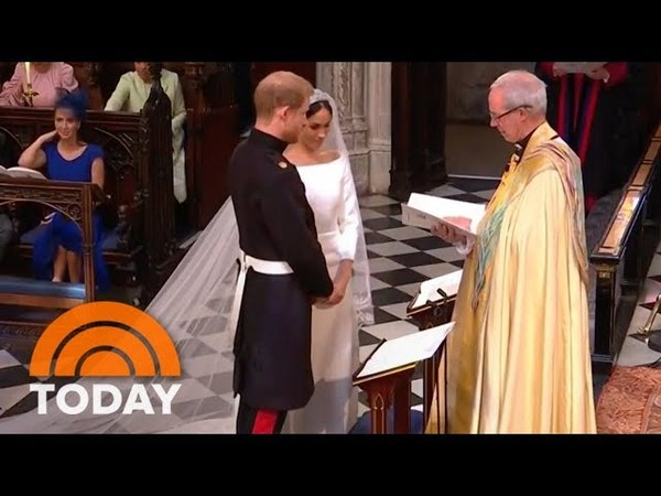 Royal Wedding: Prince Harry, Meghan Markle Exchange Vows | TODAY