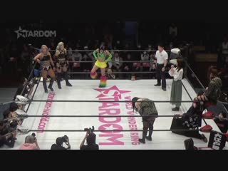 Bobbi Tyler, Hana Kimura & Sadie Gibbs vs. Oedo Tai (Hazuki, Jamie Hayter & Natsu Sumire)