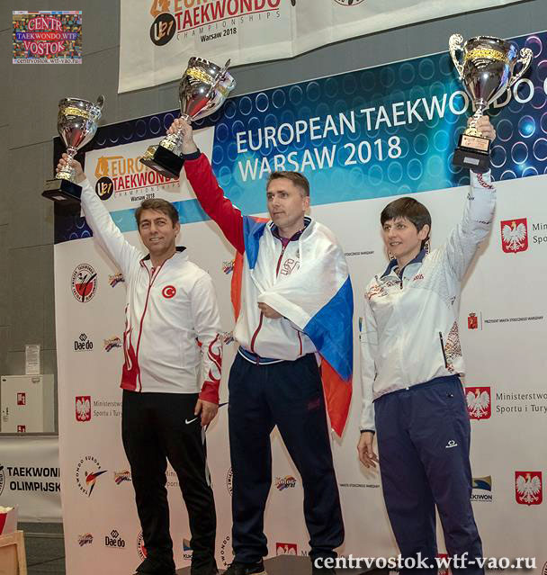 Russia Male Team Winers