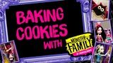 Baking Cookies in the Draculaura Kitchen for a Monster High Party Monster High