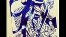 Speed Drawing Senbonzakura Bleach sketch