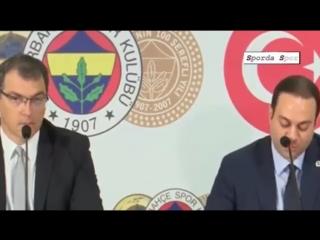 """Fenerbahçenin Yeni Transferleri """" Diego Reyes ve Michael Frey"""" İmza Töreni"""