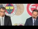 Fenerbahçenin Yeni Transferleri Diego Reyes ve Michael Frey İmza Töreni