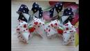 Бантики из репсовых лент Канзаши МК / The bow of REP ribbons / A goma a partir de fitas