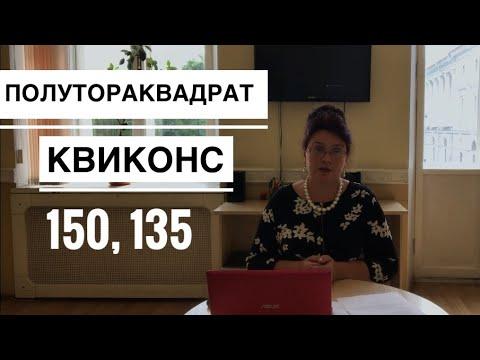 Аспекты КВИКОНС ПОЛУТОРАКВАДРАТ Астрология