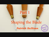 Making detail carving tools_ miniature and micro chisels. Part 1