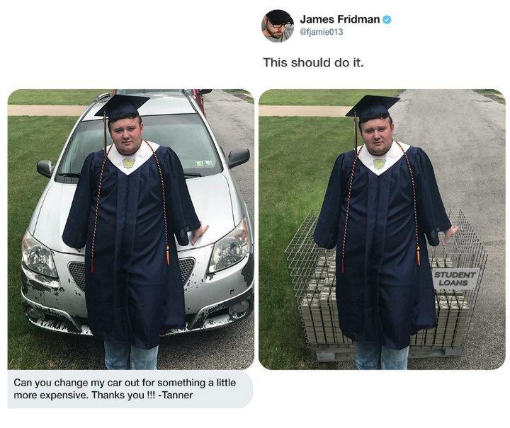 Джеймс всегда поможет