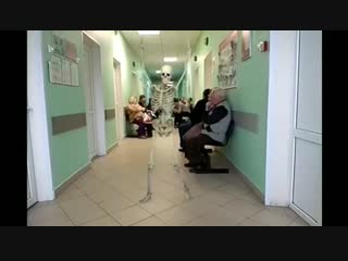 Когда ты дождался своей очереди в поликлинике классный видос очень смешно прикол