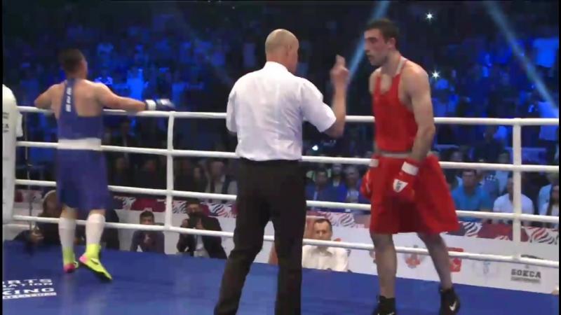 Kushitashvili Georgiy 🇷🇺 vs 🇺🇿 Malikuziev Bektemir , 81kg