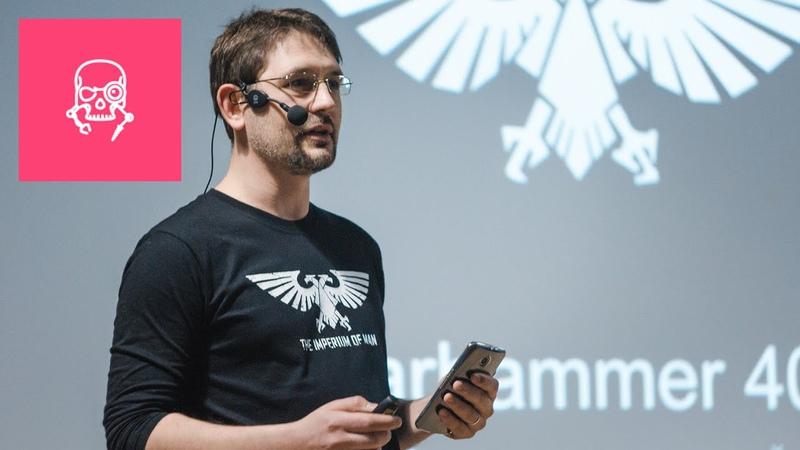 15x4 Comic-Con 15 минут об эстетике Warhammer 40К