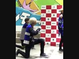 FANCAM 181130 LUCENTE - ANSWER PARK HA FOCUS @ AEON Mall Makuhari cr. lucente_runa
