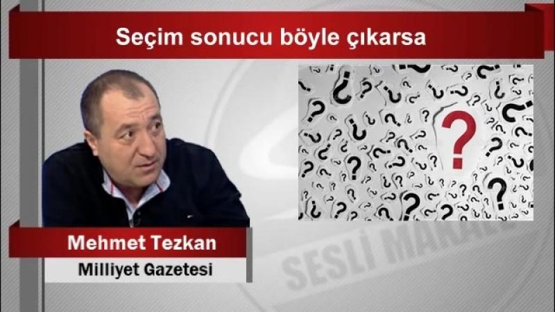 Mehmet Tezkan Seçim sonucu böyle çıkarsa - YouTube