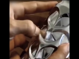 Скульптура из алюминиевой банки