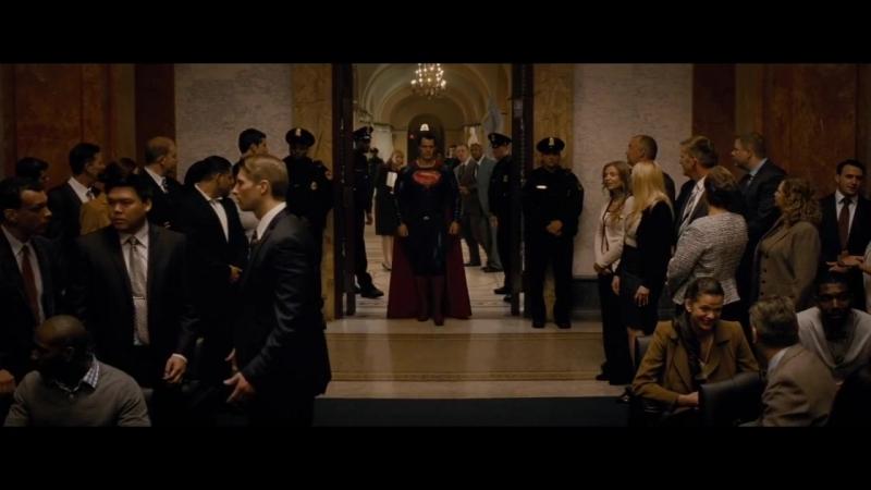 Взрыв в Капитолии - Бэтмен против Супермена- На заре справедливости (2016)