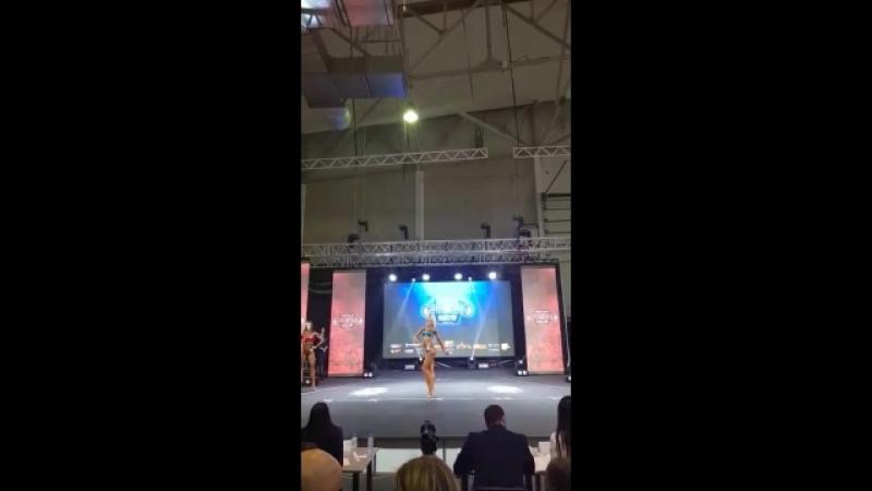 Марина Сапрыкина (команда Step by Step) на Siberian Power Show