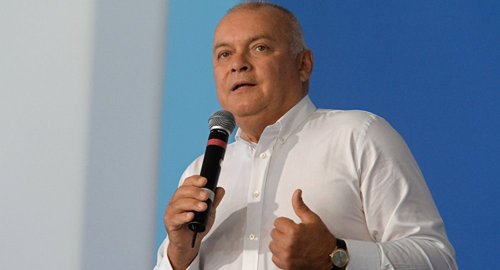 Дмитрий Киселёв прокомментировал ситуацию с задержанием сотрудника РИА Новости Украина Вышинского