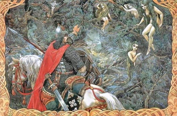 Почему у Пушкина «русалка на ветвях сидит»