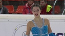 Jasmin Elesebaie Австрия ISU Гран При юниоры 2018 Линц Произвольная программа девушки