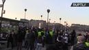 Французские жёлтые жилеты вышли на 14 ю субботнюю акцию протеста LIVE